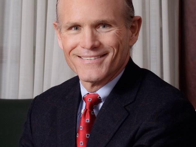 Thomas J. Hollister, Harvard's new chief financial officer