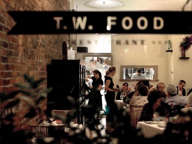 At T. W. Food, an ambitious tasting menu