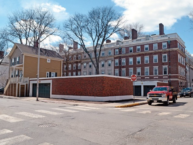 Winthrop House renovation plans include a five-story addition to Gore Hall at Plympton and Mill streets