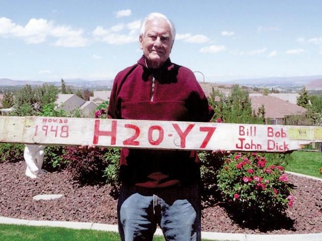 Altrocchi at his home in Reno. The goalpost has to go.