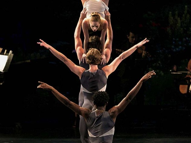 "Still from ballet ""Solitaire"""