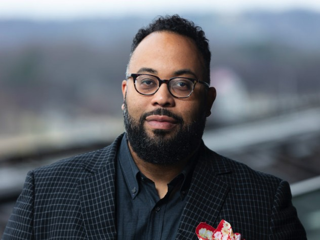 Photograph of Kevin Young