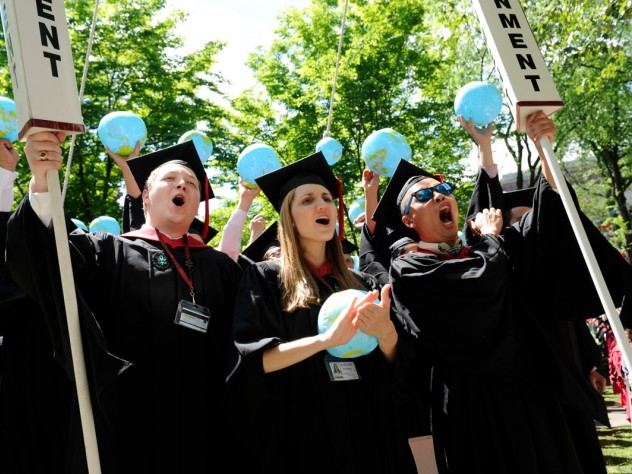 Harvard Kennedy School students, newly educated in government and public policy, show they are ready to take on the world.