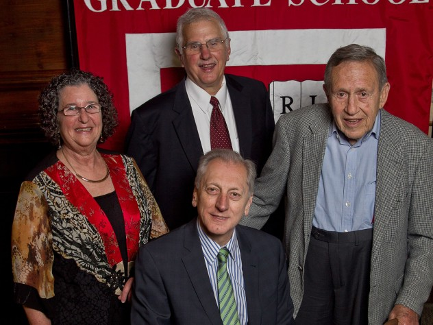 Judith Lasker, Bruce Alberts, Leo Marx, and Keith Christiansen