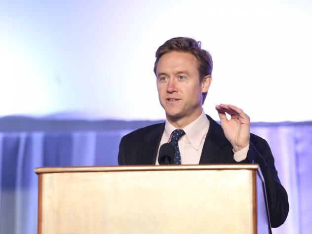 Colorado state senator Michael Johnston, the Harvard Graduate School of Education's 2014 Convocation speaker