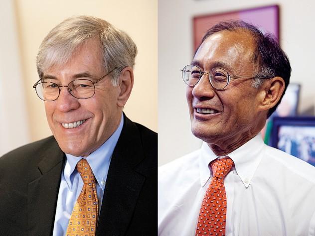 Robert D. Reischauer and William F. Lee