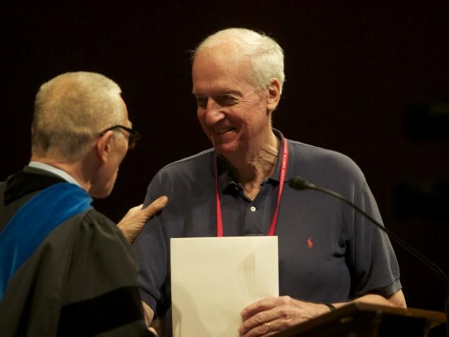 Richard Ferber '64, M.D. '79, receives honorary membership.