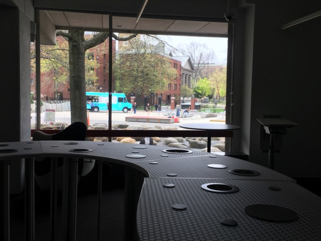 """The """"Discovery Bar"""" within the library"""