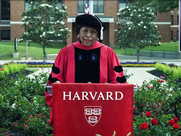 Photograph of Commencement guest speaker Ruth J. Simmons