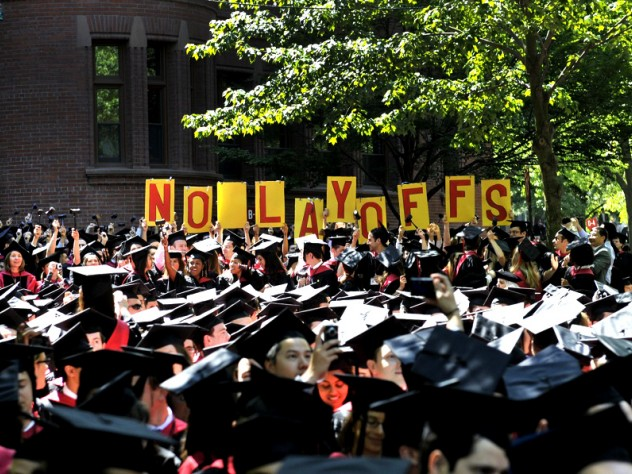 Law School candidates advocate for University employees as budgets tighten.