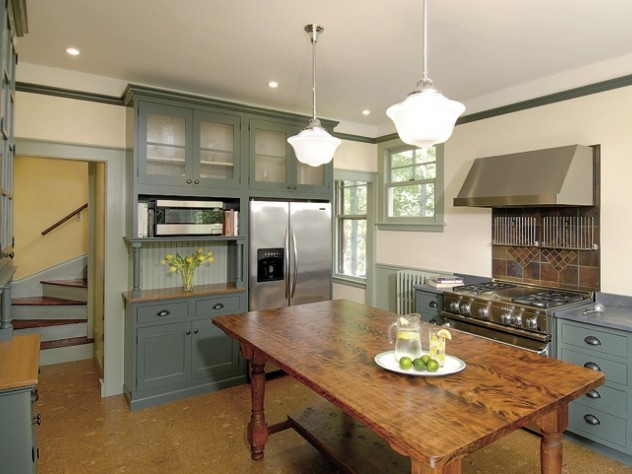 The same kitchen from a different angle