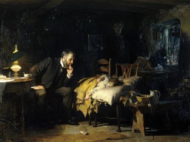 Sir Luke Fildes, <i>The Doctor</i> (1891)