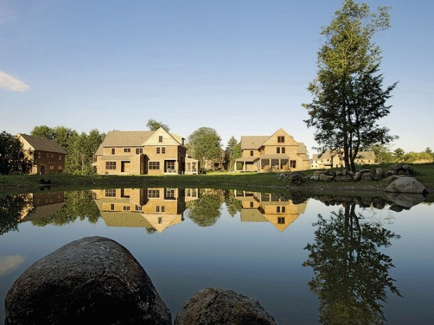 Nubanusit residents swim and fish in, skate on, and play along the shores of their backyard pond.