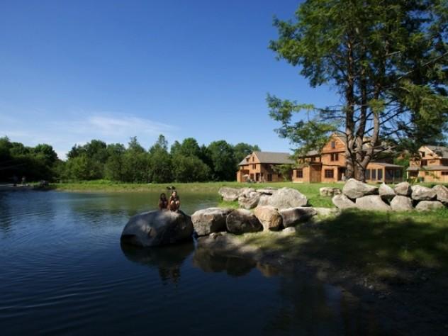 Pond view at Nubanusit
