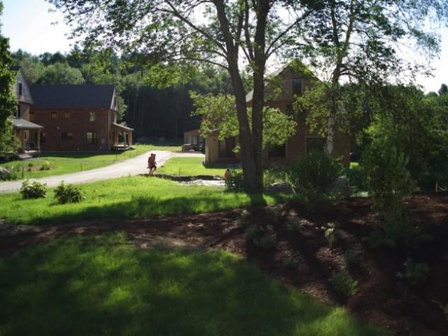 Lush greenery draws residents who enjoy the natural world
