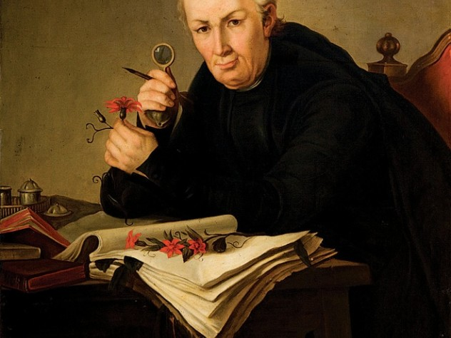 José Celestino Mutis, in a portrait from the Royal Academy of Medicine, Madrid