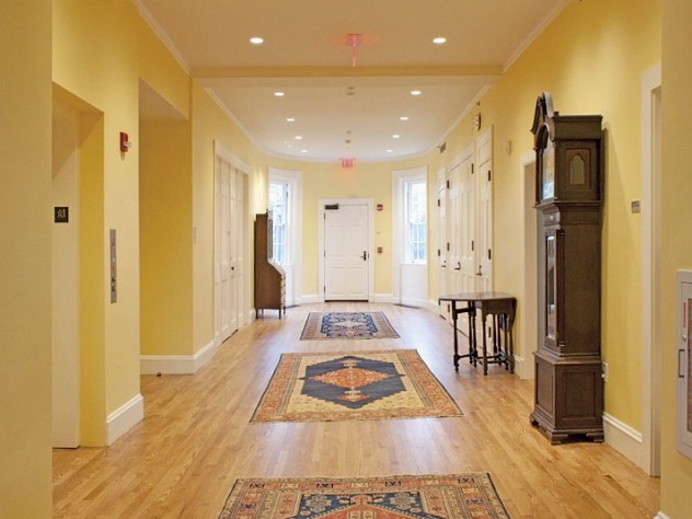 The first-floor hall of Fay House