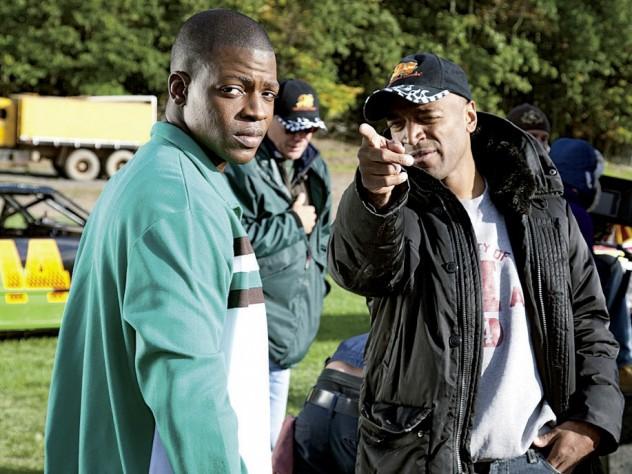 Khan directing <i>Rocksteady:</i> orienting star Cedric Sanders