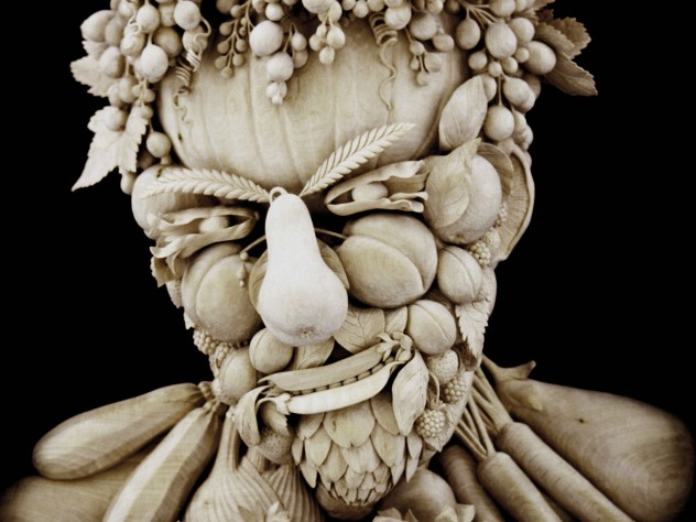 botanical head (2001), after the painter Giuseppe Arcimboldo (1527-93)