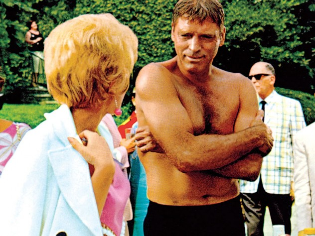 a still from <i>The Swimmer</i> (1968), part of a retrospective on Burt Lancaster, at the Harvard Film Archive
