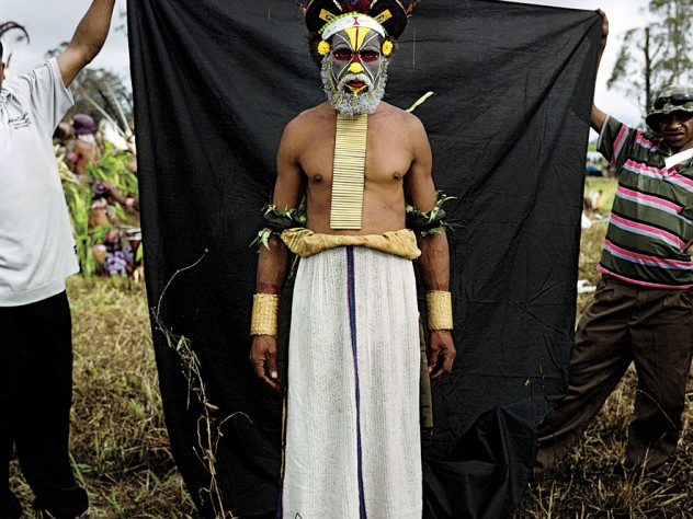 from <i>Stephen Dupont: Papua New Guinea Portraits and Diaries,</i> at the Peabody Museum