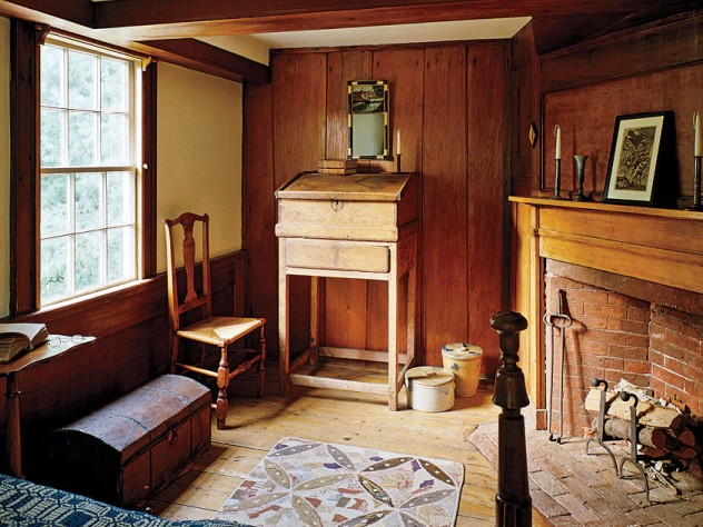 Interior of the Jonathan Fisher House