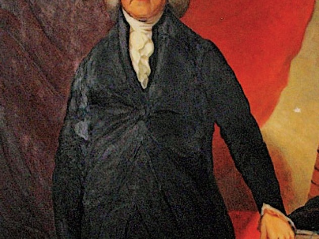 a portrait of Trumbull