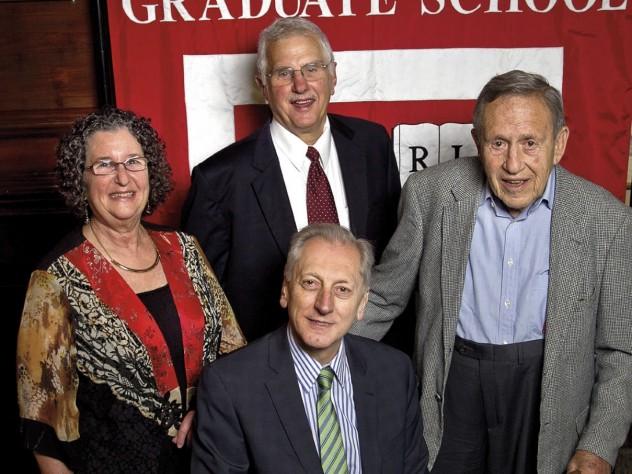 Judith Lasker, Bruce Alberts, Leo Marx, and Keith Christiansen