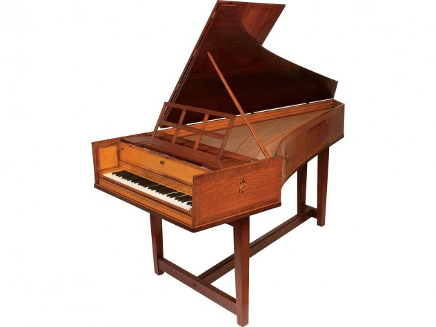 The first harpsichord built by Frank Hubbard and William Dowd
