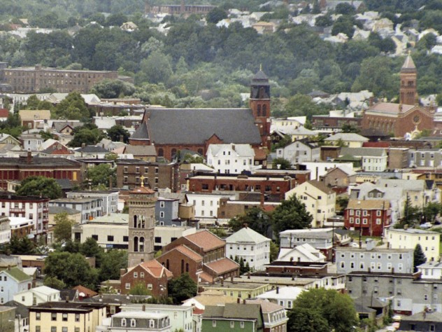 Federal Hill in Providence, Rhode Island, today, with its Roman Catholic churches