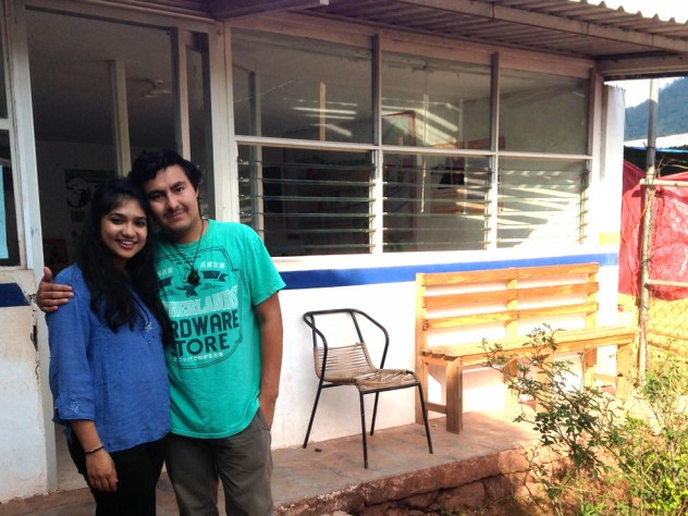 During her time in Mexico, Ishani Premaratne '15, also a Global Health Equity Option Scholar, worked closely with the <i>pasante</i> assigned to her clinic. <i>Pasantes</i> are recently graduated Mexican doctors in their mandatory social-service year. CES hosts a <i>pasante</i> in each of its six clinics for a six-month training and mentorship program.