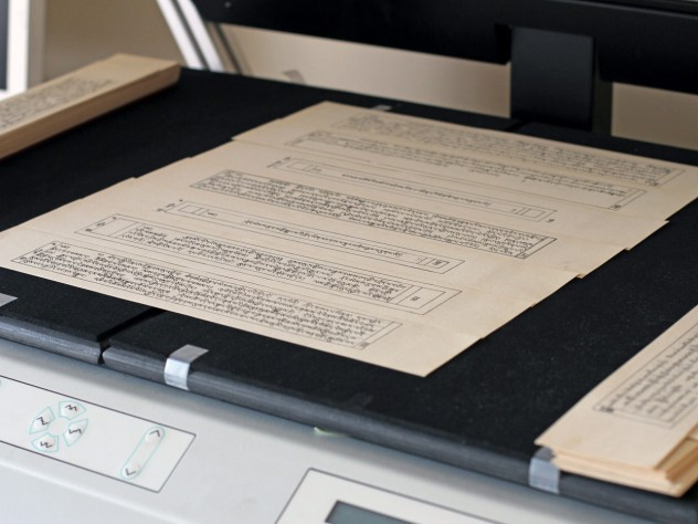 TBRC has scanned approximately 10 million pages of Tibetan literary texts. The scans, which are available on the TBRC database, are about to be stored in Harvard Library's Digital Repository Services.