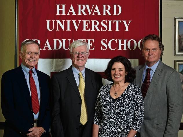 Robert Richardson, Gordon Wood, Louise Ryan, and Wade Davis