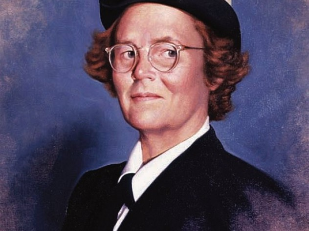 """Sears once wrote that her naval service """"gave me an opportunity as a woman to further my career that nothing else could have."""""""