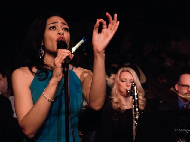 Candice Hoyes performs at the legendary Harlem jazz club Minton's.