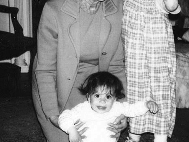 Family pictures show writer Olivia Gentile with her Boston grandmother and older sister