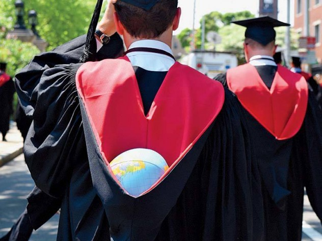 A Kennedy School graduate, prepared to bear the weight of the world