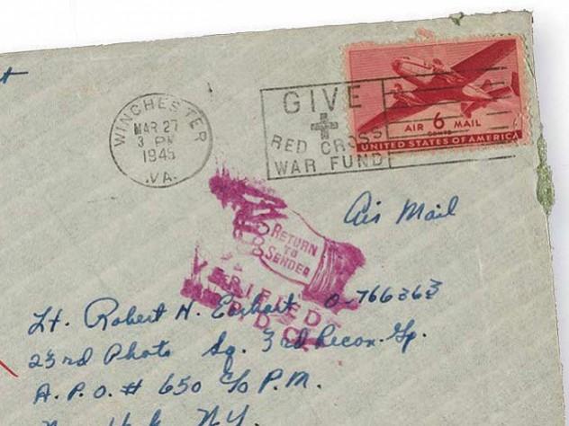 Envelope of an old letter