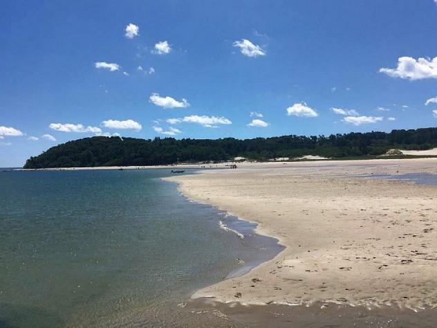 Sandy Crane Beach north of Boston
