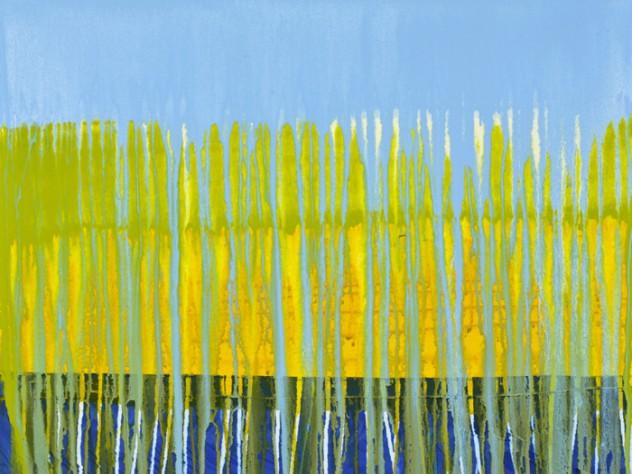 <em>Kanjeevaram Series</em> (acrylic on canvas, 2008)