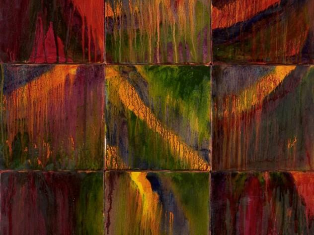 <em>Kanjeevaram Series</em> (oil on canvas, 2005)