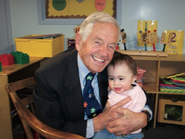 Brazelton with one of his sources of inspiration