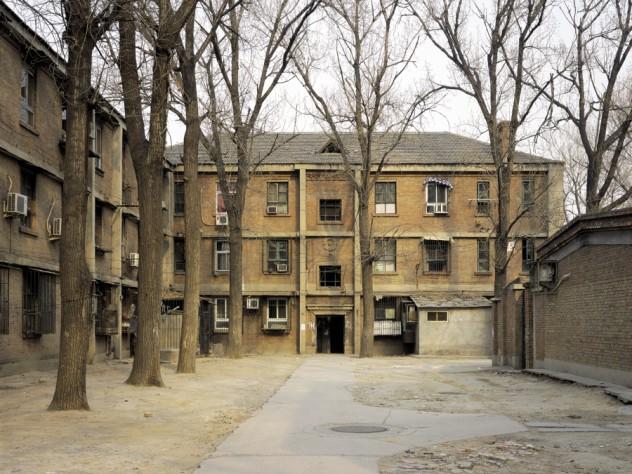 """""""Building No. 15, 4th Road in Jiu Xian Qiao"""" (built mid 1950s, photographed in 2005)."""