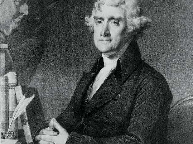 President Thomas Jefferson  ca. 1805