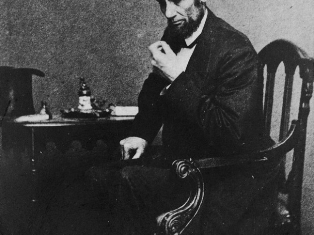 President Abraham Lincoln in May 1861