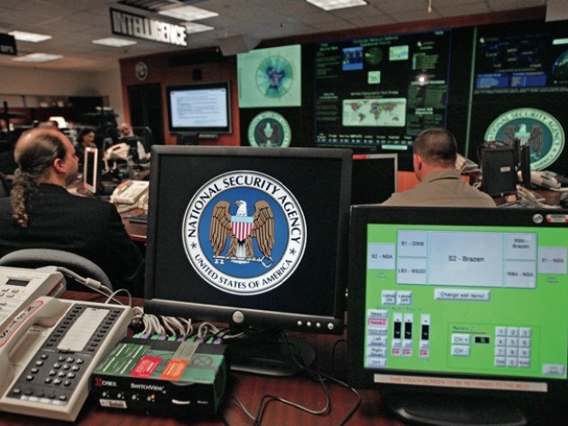 Inside the National Security Agency's Threat Operations Center in January 2006, following President George W. Bush's speech to employees prior  to the U.S. Senate hearings on domestic surveillance