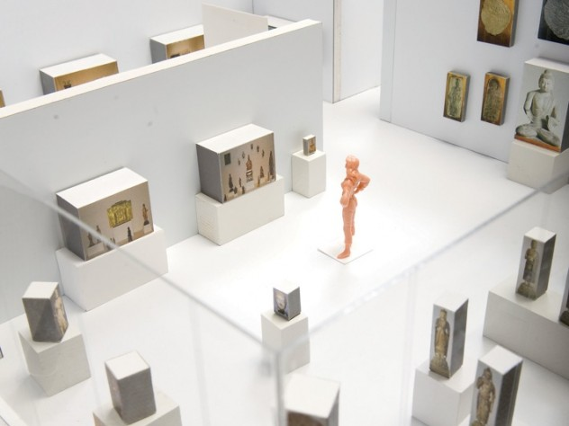 Using scale models of the galleries in the Harvard Art Museums' new building, curators are already choosing the objects for permanent installation.