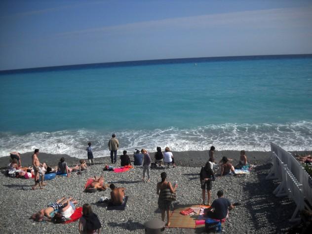 The Mediterranean at Nice