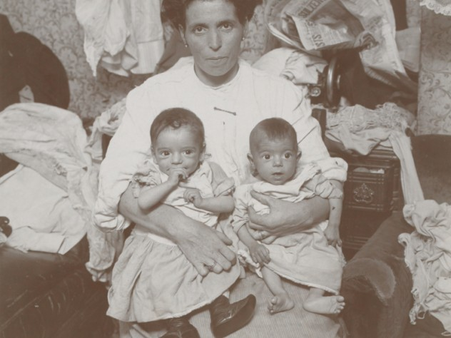 "<i>Social Settlements: United States. Pennsylvania. Philadelphia. ""Starr Centre Association"": The Starr Centre Association, Philadelphia, Pa.: Twins When They Began to Take Modified Milk,</i> c. 1907. Gelatin silver print."