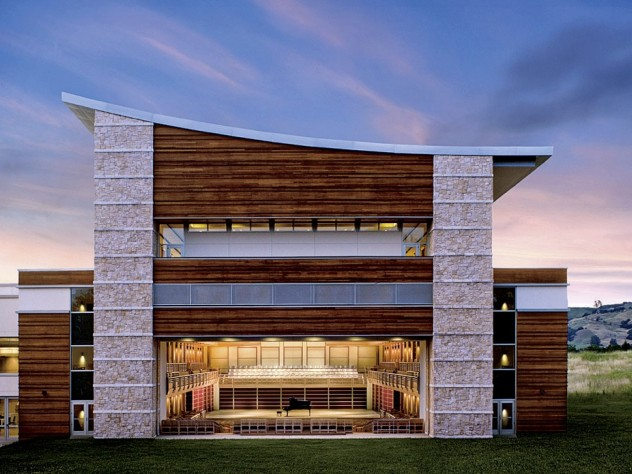 The Green Music Center at Sonoma State University